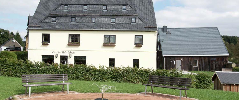 Welkom bij Haus Talschanke – centraal gelegen tussen Dresden en Praag aan de Tsjechische grens